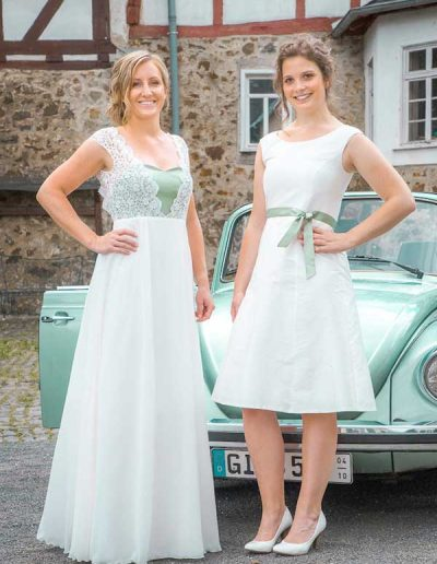 Brautkleider Frida und Lucy