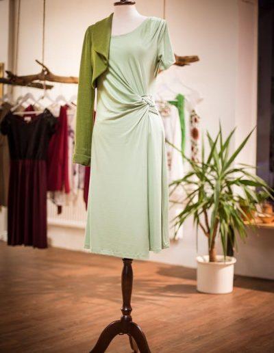 Jerseykleid, Knotentechnik, Sommerkleid (4)