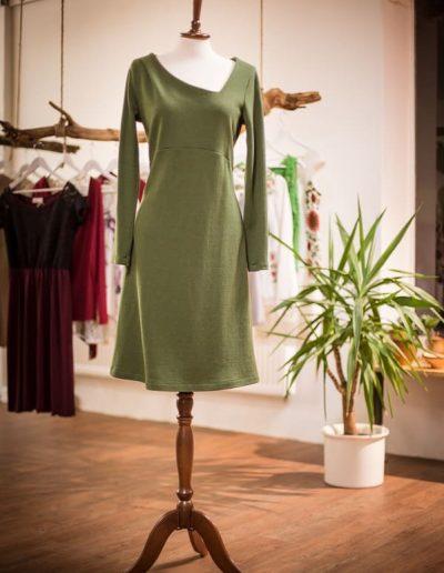 Strickkleid grün (3)